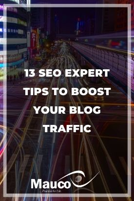 13 SEO Expert Tips to Boost Your Blog Traffic