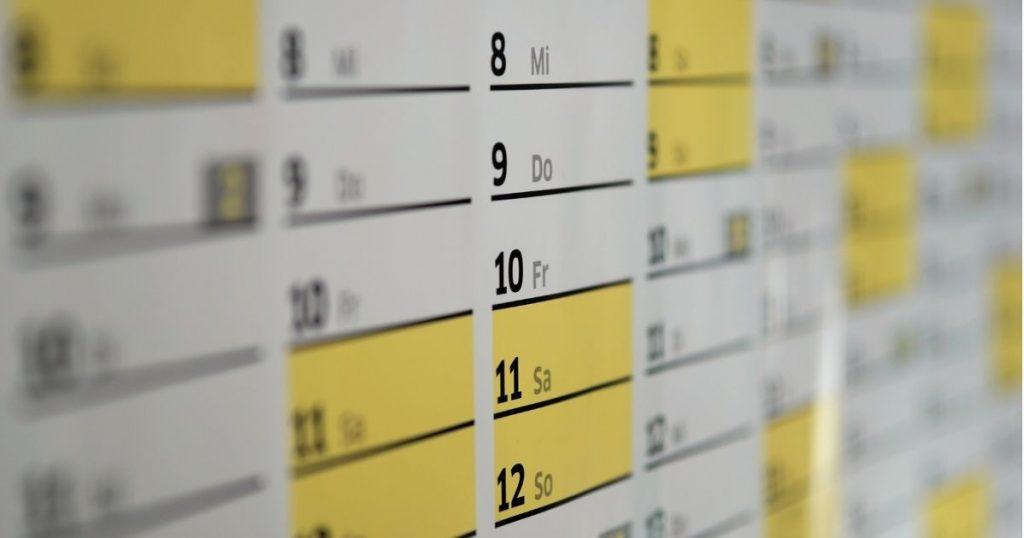 20 Benefits of using a Content Calendar