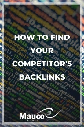 How to Find Your Competitor's Backlinks
