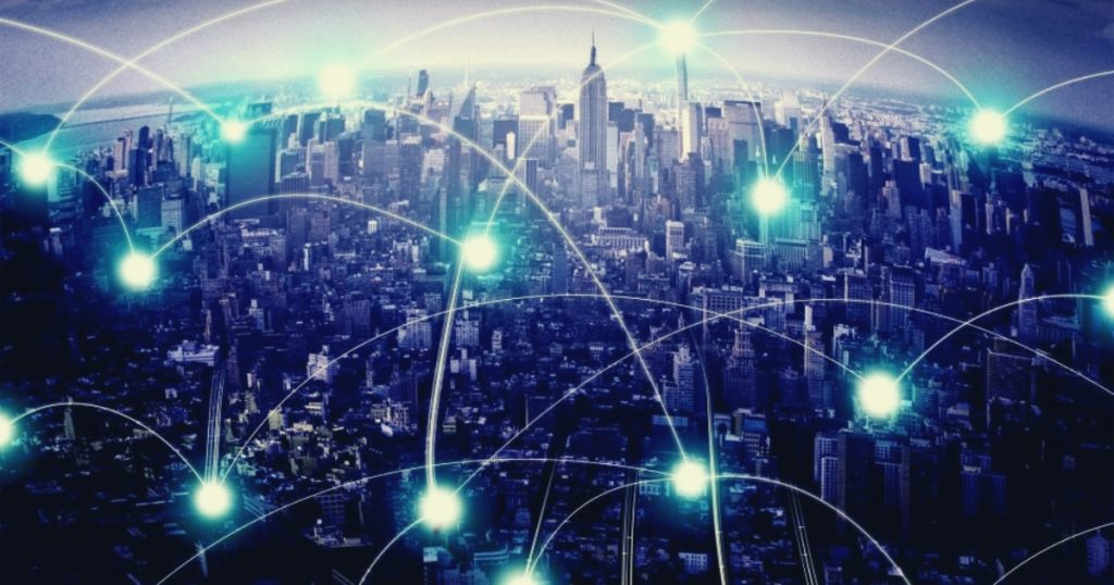 The Urban Network - A City and Its Human and Electronic Connections