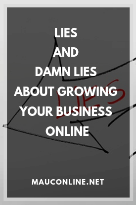 Lies and Damn Lies about Growing Your Business Online-PIN