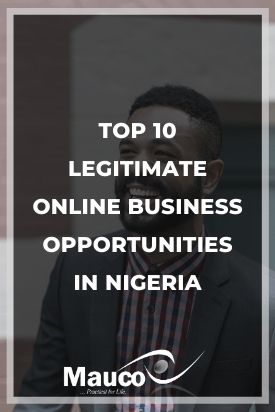 Legit Online Business in Nigeria