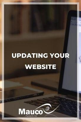 Updating Your Website